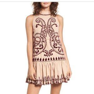 Kas New York Lauren Embroidered Dress